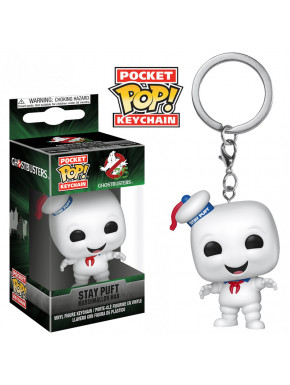 Llavero mini Funko Pop! Stay Puft Cazafantasmas