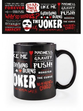 Taza Joker Why so Serious Quotographic