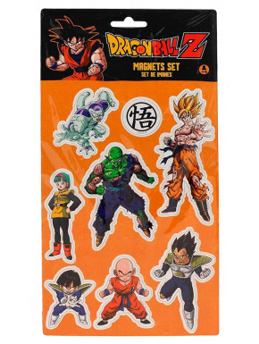Set de imanes Dragon Ball Z