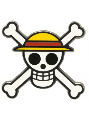 Pin One Piece Skull