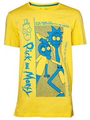 Camiseta Rick y Morty Crazy Crap