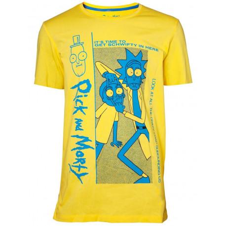 Camiseta Rick y Morty Crazy Crap