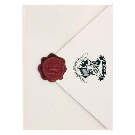 Cuaderno Carta Harry Potter