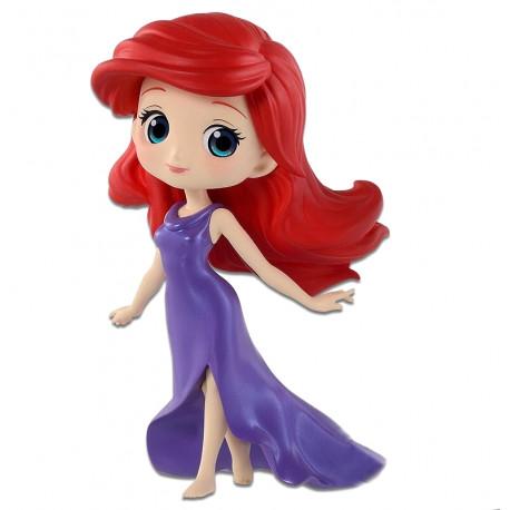Figura Ariel con Vestido Disney Banpresto mini Q Posket Petit Girl 7 cm