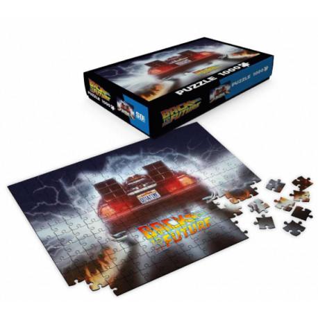 Puzzle Delorean Regreso al Futuro 1000 piezas