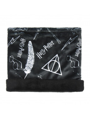 Braga de cuello azul marino Harry Potter
