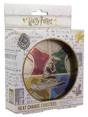 Set de posavasos térmicos Harry Potter