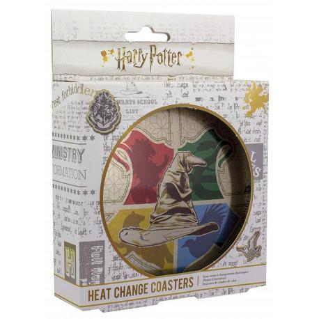 Set de posavasos térmicos Sombrero Seleccionador Harry Potter