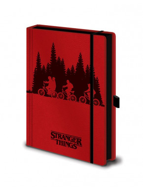 Libreta Premium A5 Stranger Things Upside Down