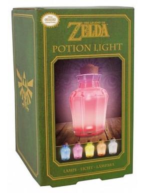 Lámpara Zelda Poción multicolor