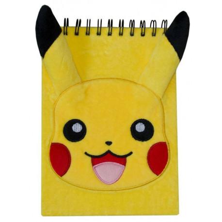 Libreta Peluche A5 Pikachu Pokemon