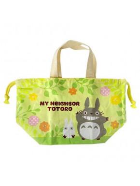 Mini bolso de tela Plantas Mi vecino Totoro Ghibli