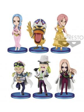 Figura Sorpresa One Piece Levely WFC Chibi Banpresto 7 cm