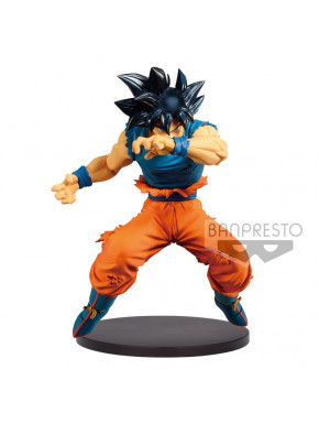 Figura Son Goku Dragon Ball Banpresto Ultra Instinct 16cm