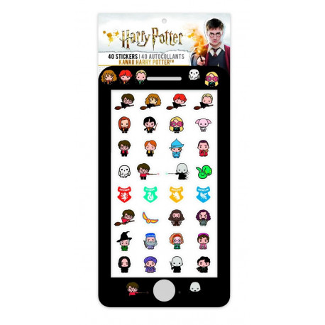 Set pegatinas Harry Potter Kawaii