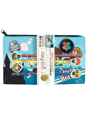 Set Escolar Harry Potter Kawaii