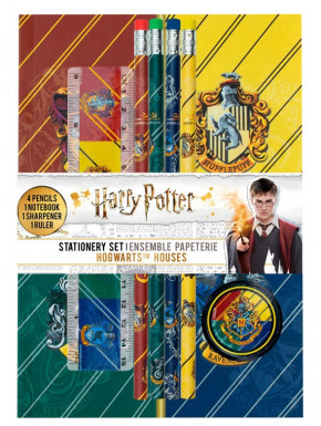 Set Escolar Harry Potter Casas Hogwarts