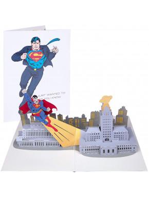 Postal 3D Superman