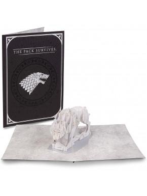 Postal 3D Juego de Tronos Stark