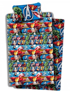 Juego de Sábanas Avengers Marvel 90 cm
