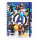 Cuaderno espiral Avengers Endgame Marvel