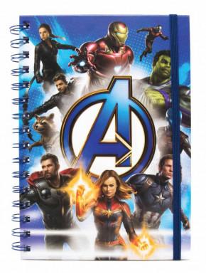 Cuaderno espiral A5 Avengers Endgame Marvel