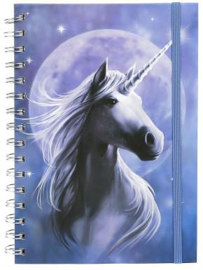 Libreta Unicornio Luz de Luna