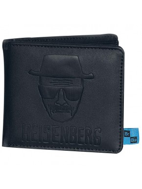 Cartera monedero Heisenberg Breaking Bad cuero
