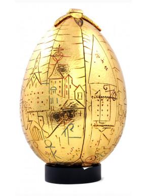 Réplica 1/1 Huevo de Oro 23 cm