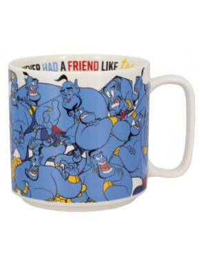 Taza Genio Lámpara Aladdin Disney