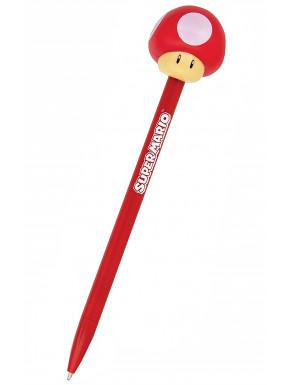 Bolígrafo Super Mario Champiñón Nintendo