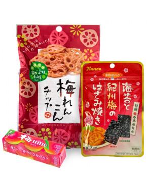 Pack snacks de Ume