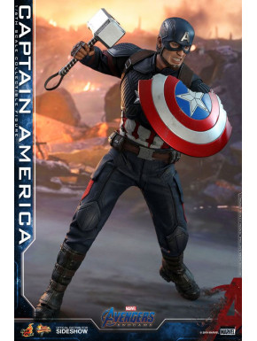 Figura Capitan America 1:6 Hot Toys Endgame Movie Masterpiece 31cm