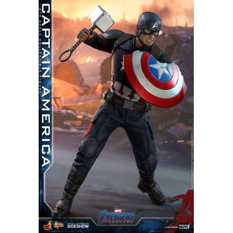 Figura Capitan America 1:6 Hot Toys Movie Masterpiece 31cm