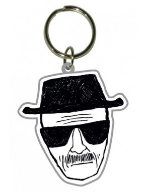 Llavero caucho Heisenberg Breaking Bad