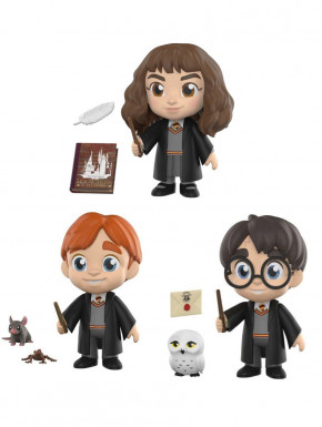 Pack Funko 5 Star: Hermione, Ron y Harry Potter C