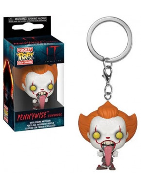 Llavero mini Funko Pop! Pennywise It 2017 Lengua