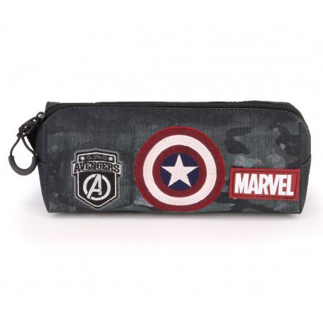 Estuche Portatodo Capitán América Marvel Army
