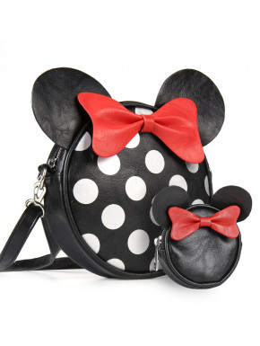 Pack bolso y monedero Minnie Mouse
