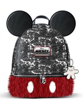 Bolso mochila Mickey Mouse Disney Lentejuelas