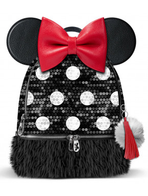 Bolso mochila Minnie Disney Lentejuelas