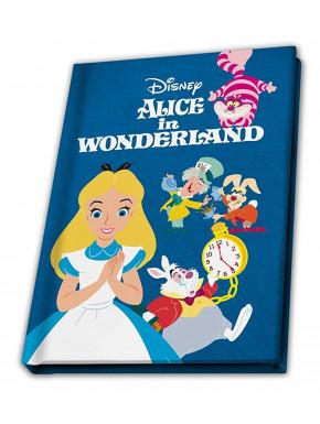 Libreta Alicia en el País de las Maravillas Disney