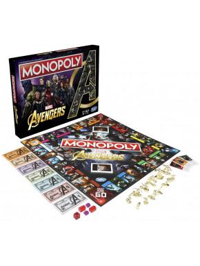 Monopoly Avengers Marvel Edición Castellano