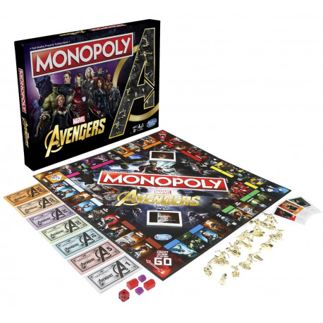 Monopoly Avengers Marvel Edición español