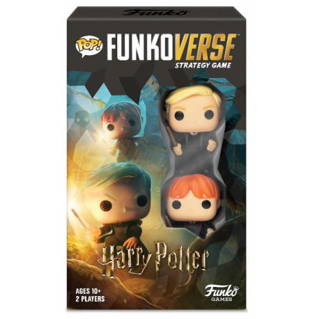 Funkoverse Harry Potter 101 juego de mesa 2 jugadores
