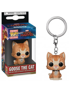 Llavero mini Funko Pop! Goose Capitana Marvel