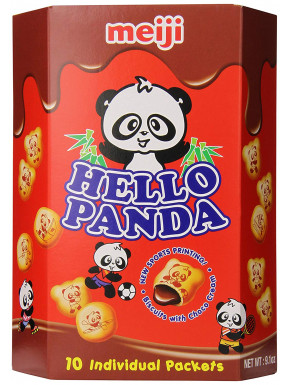 Galletas de Chocolate Kawaii Hello Panda Tamaño Gigante