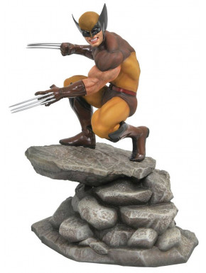 Figura Lobezno Marvel Diamont Select 23 cm