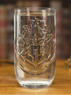 Vaso cristal Harry Potter Hogwarts Crest