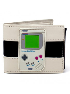 Cartera Nintendo Game Boy en Relieve Black